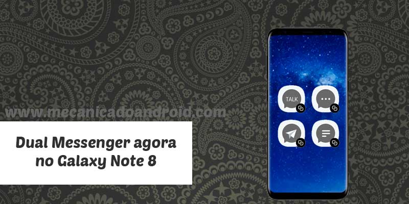 Dual Messenger no Galaxy Note 8