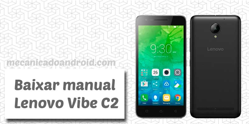 baixar manual do lenovo vibe c2