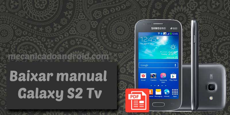 baixar manual do galaxy s2 tv