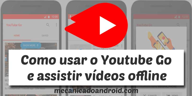 como usar o youtube go