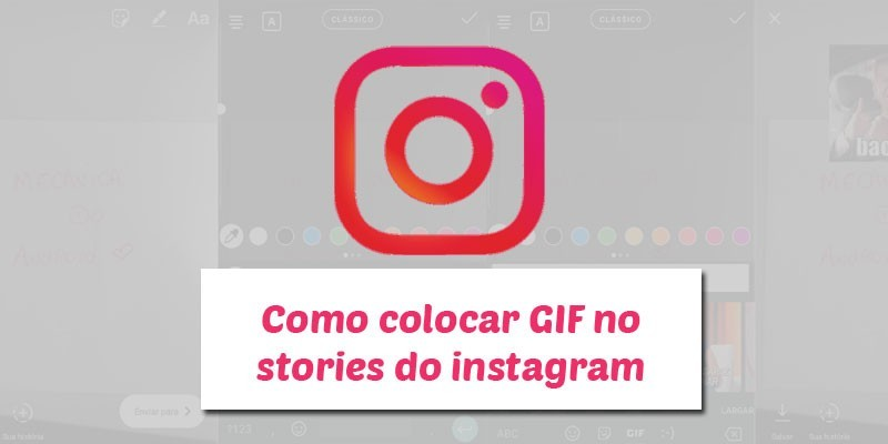 GIF no Stories do Instagram