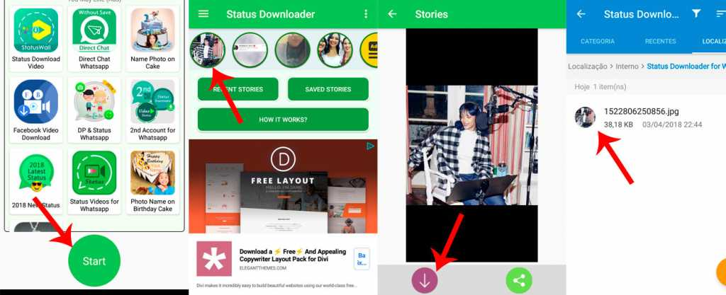baixar videos para status do whatsapp