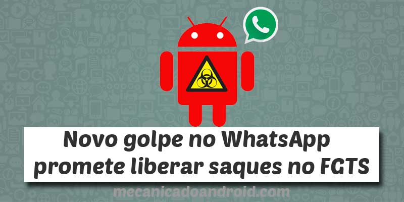 golpe do fgts no whatsapp