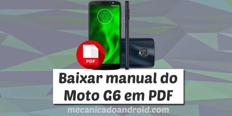 manual do moto g6