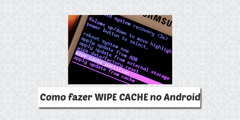 wipe cache android