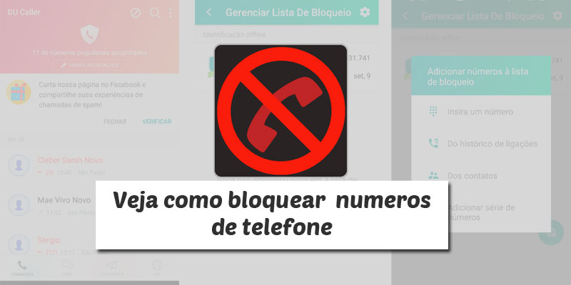 bloquear chamadas no android